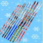 Пластиковые лыжи STC без насечки, фото 1