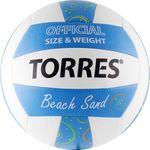 Мяч волейбольный пляжный Torres Beach Sand Blue, фото 1