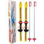 """Лыжи детские Цикл """"Вираж-спорт"""" с палками 100/100 (лыжи, алюм. палки, унив. крепления), фото 1"""