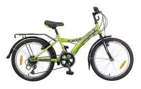 Велосипед NOVATRACK RACER 20 (2017) 6 ск. (Зеленый), фото 1