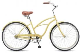 "Велосипед Stels Navigator-110 Lady 26"" 1-sp V010 (2019) (Желтый - песок,17""), фото 1"