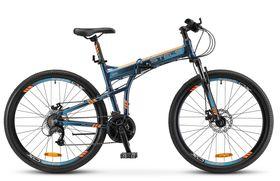 """Велосипед STELS Pilot 950 MD 26 V010 (2019) складной (Темно - синий,17.5""""), фото 1"""