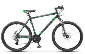 """Велосипед STELS Navigator 500 MD 26 F010 (2019) (Черный - зеленый,18""""), фото 1"""