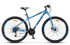 "Велосипед STELS Navigator 910 MD 29 V010 (2019) (Синий - черный,18.5""), фото 1"