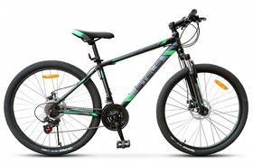 "Велосипед STELS Navigator 500 MD 26 V020 (2018) 21 ск. (Черный - зеленый,18""), фото 1"