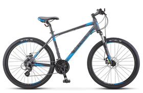 """Велосипед STELS Navigator 630 MD 26 (2019) K010 (Антрацитовый - синий,18""""), фото 1"""