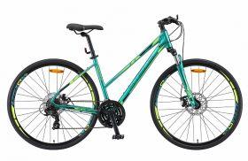 "Велосипед STELS Cross 130 MD Lady 28"" V010 (2019) (Зеленый,15.5""), фото 1"
