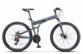 """Велосипед STELS Pilot 970 MD 26 V022 (2020) складной (Антрацитовый,17.5""""), фото 1"""