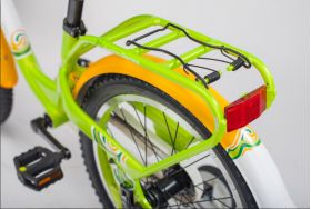 """Велосипед STELS Pilot 190 18"""" V030 (2018) (Зеленый - жёлтый - белый,9""""), фото 7"""