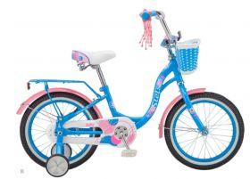 "Велосипед STELS Jolly 16 V010 (2020) (Синий,9.5""), фото 1"
