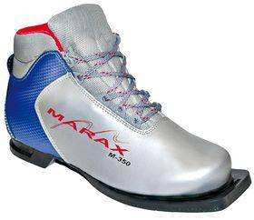 Ботинки лыжные MARAX М 350 75 мм (Серебряно - синий,39), фото 1