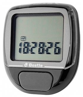 Велокомпьютер BEETLE-1 черн., 5 функций, фото 1