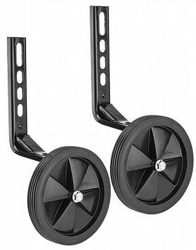 """Дополнительные колеса (черные) HL-TW15 12""""-20"""" с черными кронштейнами пластик/металл, фото 1"""