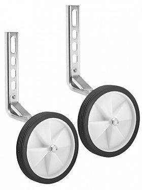 """Дополнительные колеса (белые) HL-TW15 12""""-20"""" с серебристыми кронштейнами пластик/металл, фото 1"""