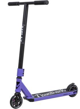 Самокат трюковый NOVATRACK REPLAY PL (110A.REPLAY.VT9) фиолетовый, фото 1